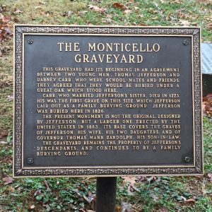 monticello graveyard sign