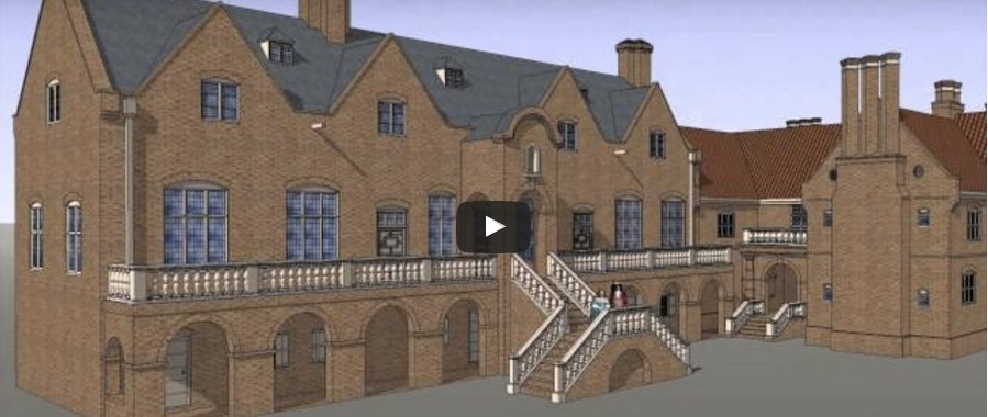 Green Spring Plantation manor house animation