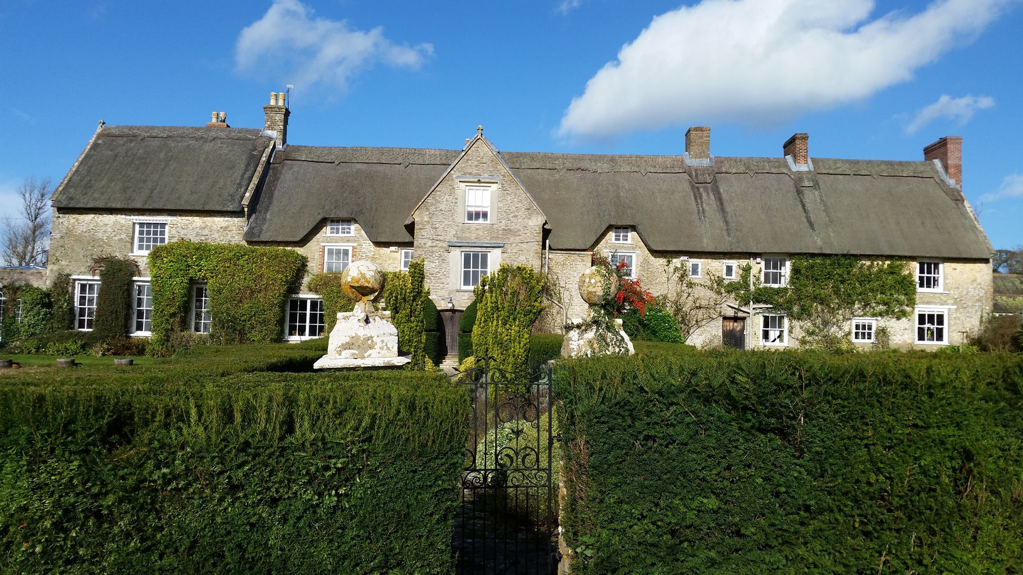 Discove Cottage Bruton Somerset England Ludwell Berkeley Family