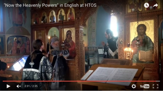 orthodox liturgy video philip ludwell translation