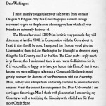 Philip Ludwell III letter to George Washington colonel Virginia militia 1755