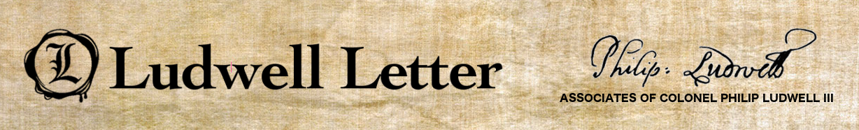 newsletter ACPL Philip Ludwell III Ludwell Letter