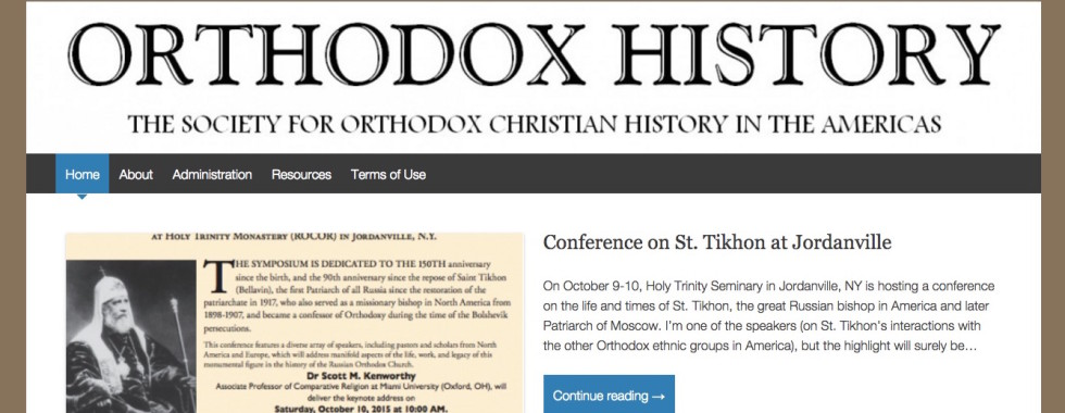 Society for Orthodox Christian History in the Americas