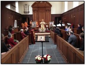 Orthodox Divine Liturgy Wren Chapel William & Mary