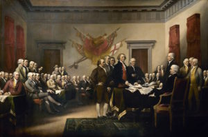 Declaration of Independence, John Trumbill