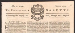 Pennsylvania Gazette, Benjamin Franklin