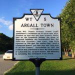 jamestown historical marker, argall town
