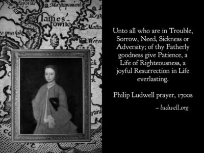 philip ludwell prayer
