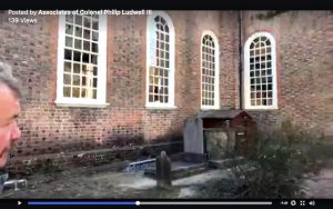 Thomas Ludwell founder of Bruton Parish Church