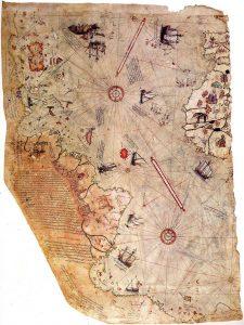 Piri Reis world map transatlantic orthodox