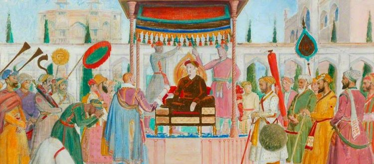 Sir Thomas Roe at the Mughal Court