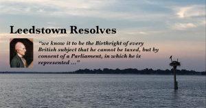 Leedstown Resolves 1766