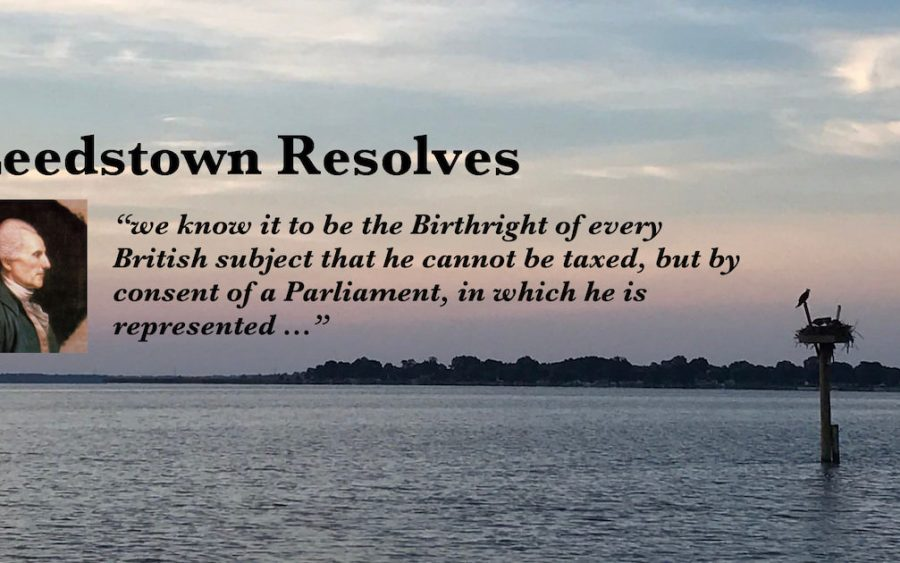 Leedstown Resolves 1766