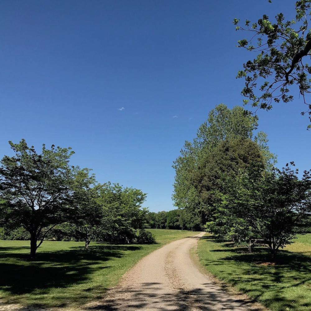 vauters church virginia country lane