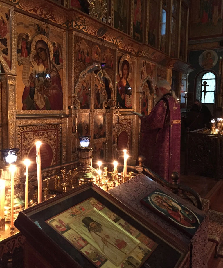 Presanctified Liturgy in Washington, DC using Philip Ludwell's translation, Lent 2015.