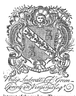 Original Ludwell Family Crest