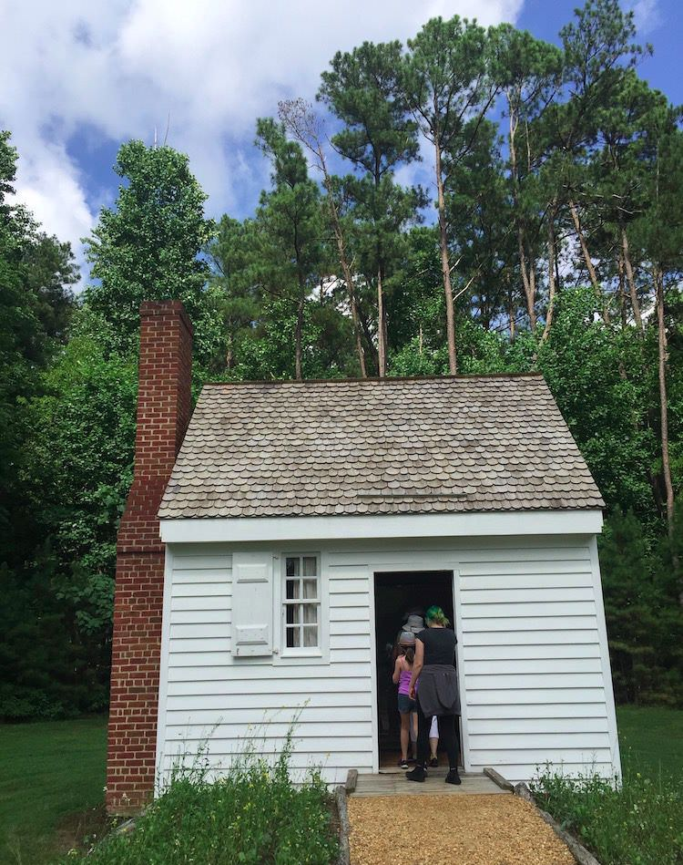 Juba Lightfoot house in freedom park williamsburg virginia - william ludwell lee